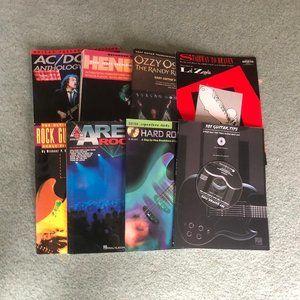 Lot of 8 Guitar Books